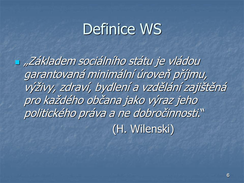 Definice WS