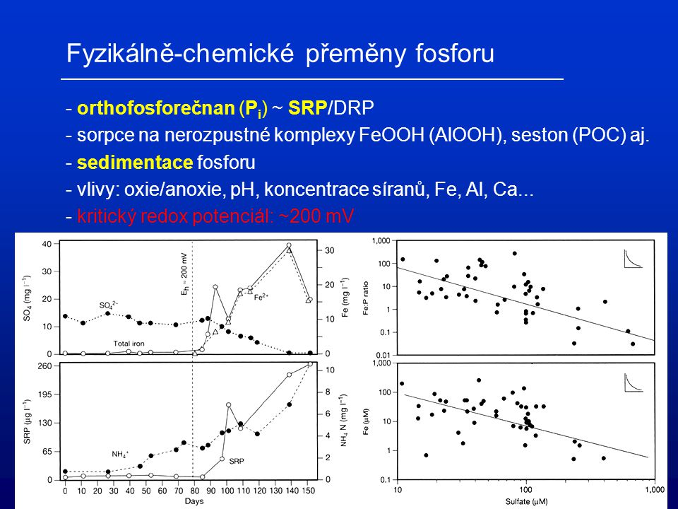 Fyzikálně-chemické přeměny fosforu