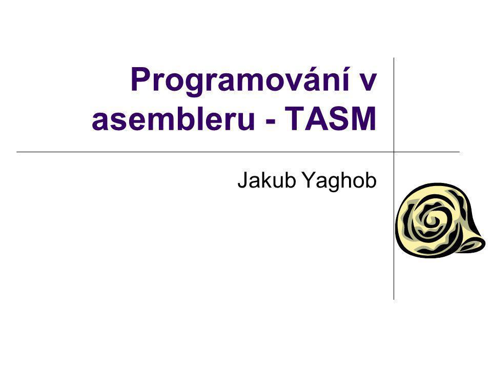 Programování v asembleru - TASM