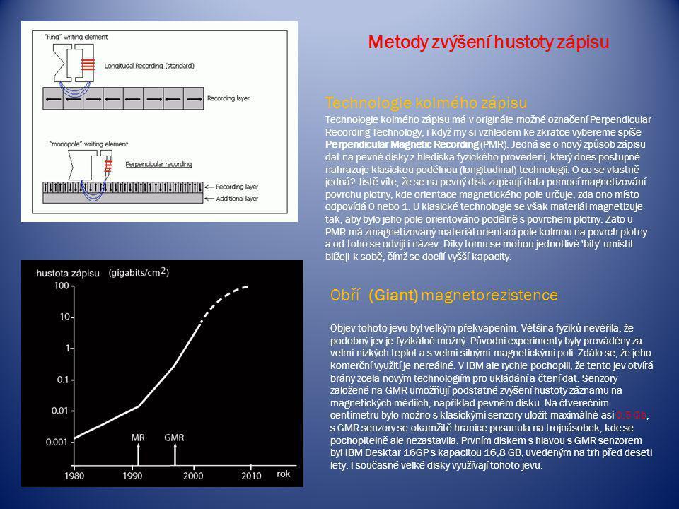 Metody zvýšení hustoty zápisu
