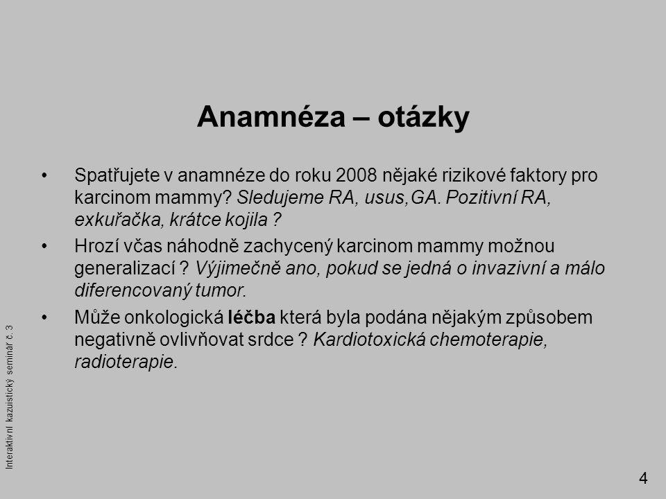 Anamnéza – otázky