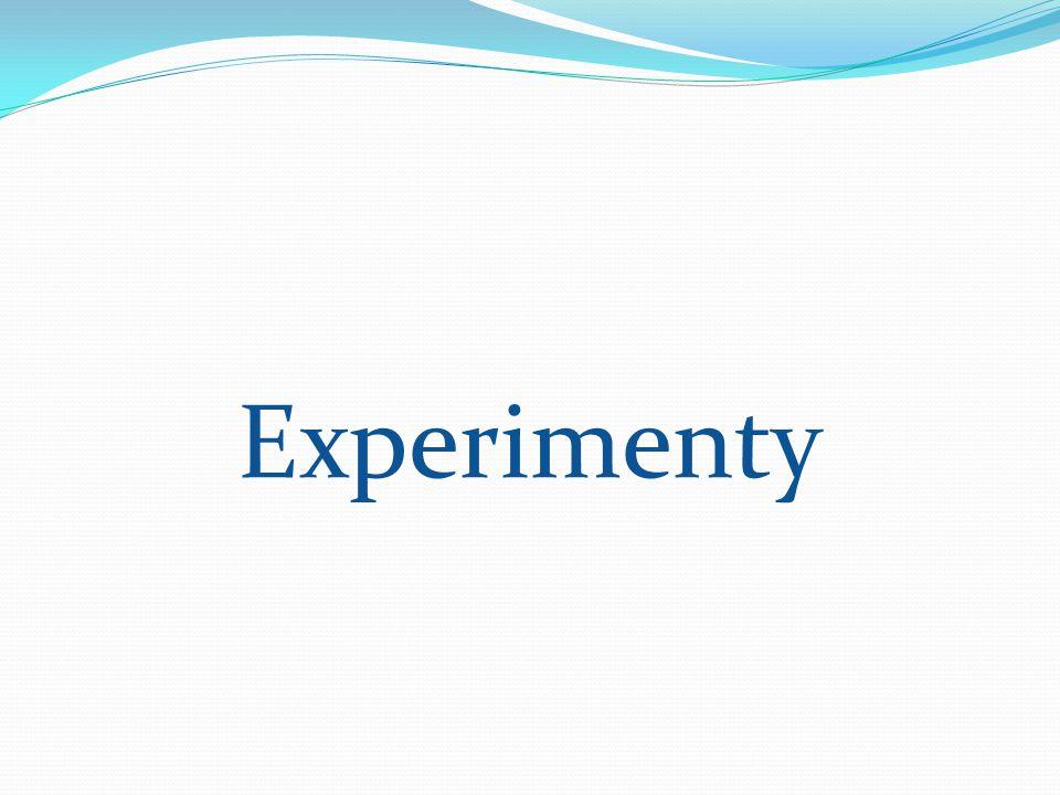 Experimenty