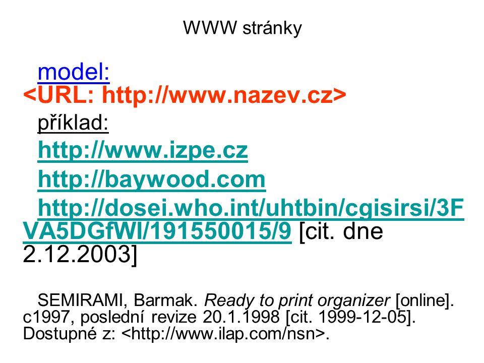 model: <URL: http://www.nazev.cz>