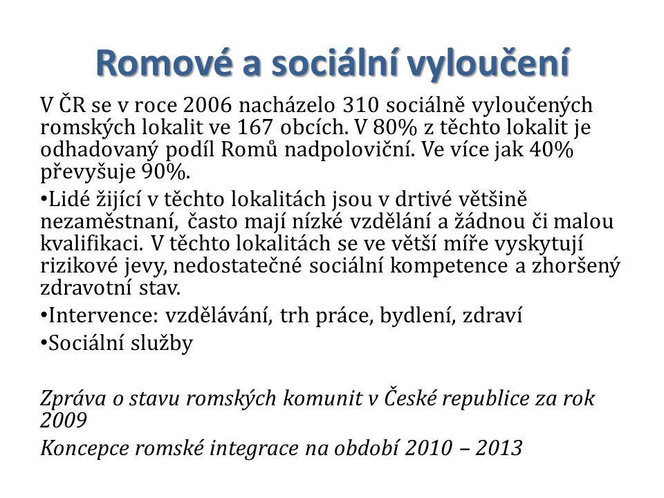Romové a sociální vyloučení