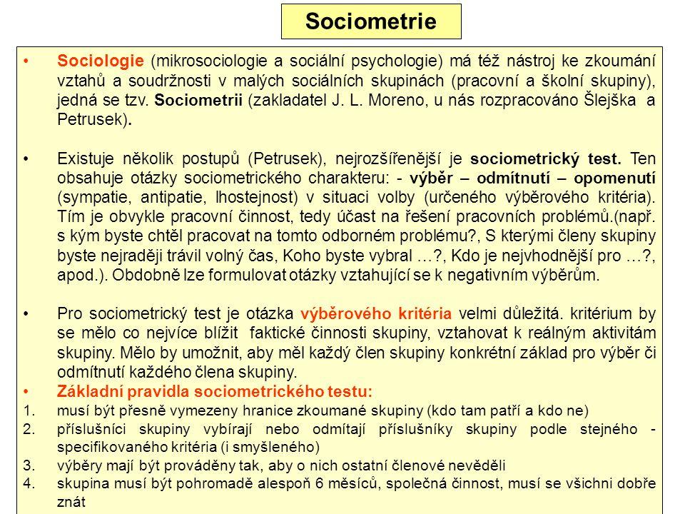 Sociometrie