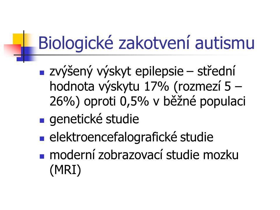 Biologické zakotvení autismu
