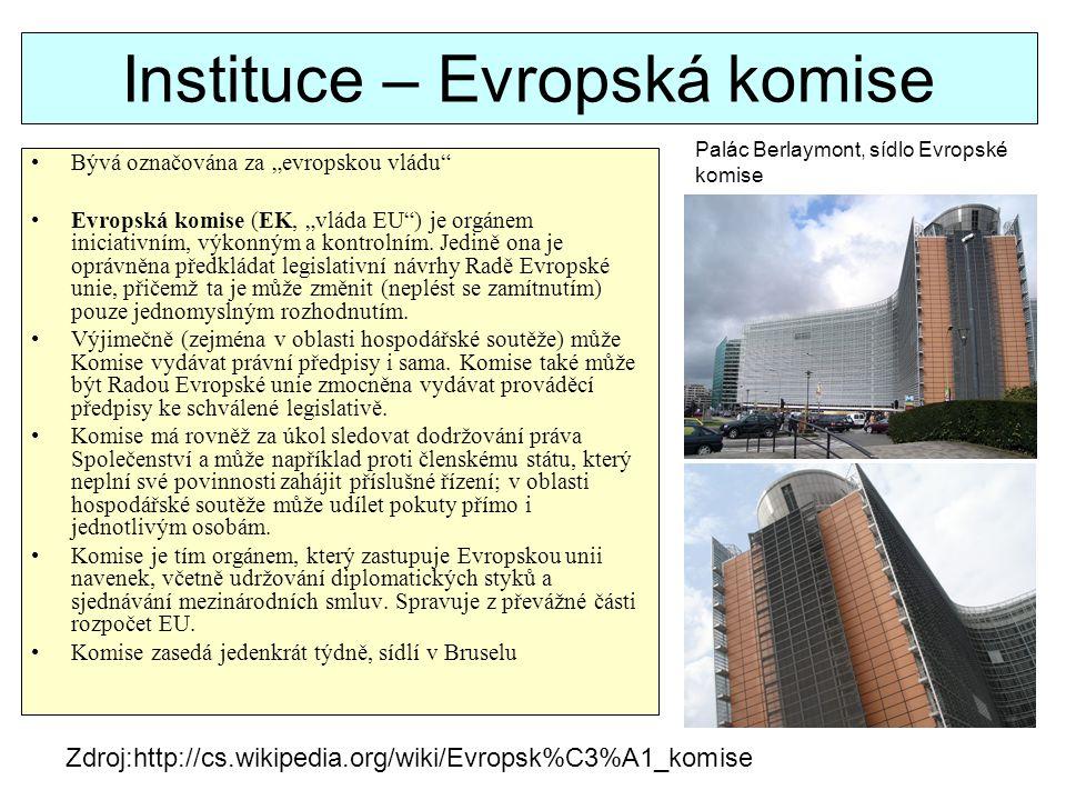 Instituce – Evropská komise