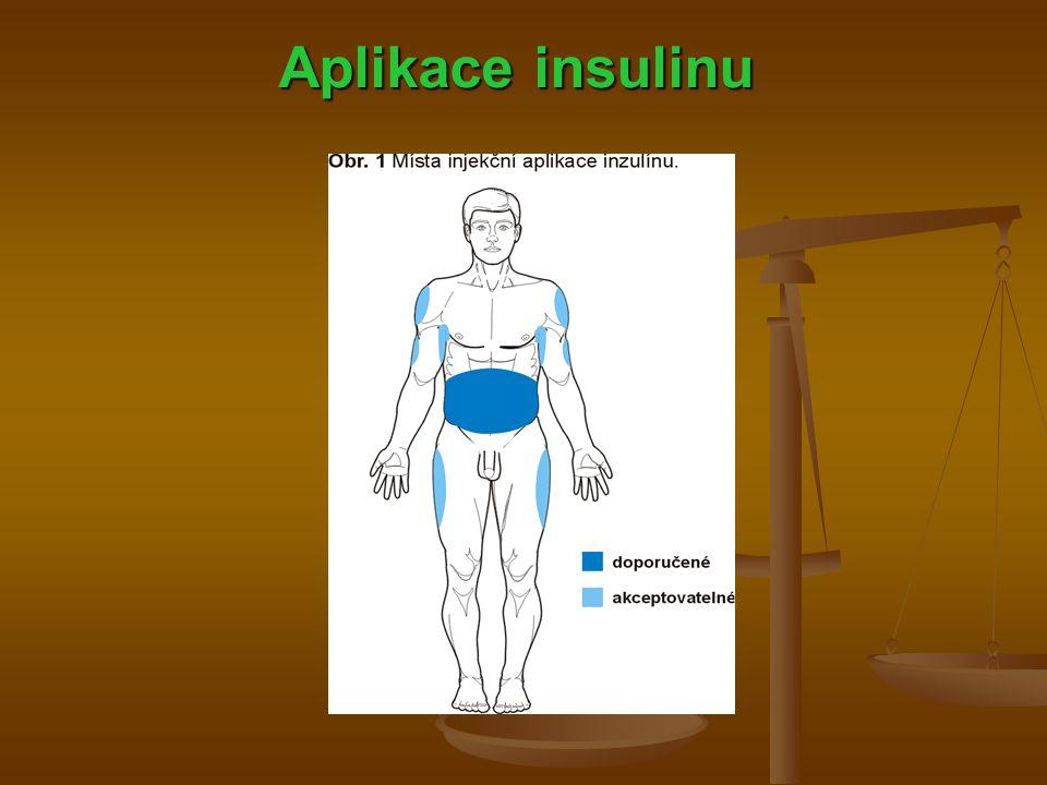 Aplikace insulinu