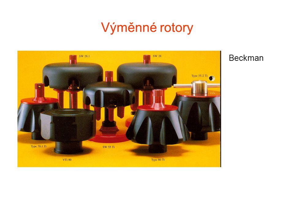 Výměnné rotory Beckman