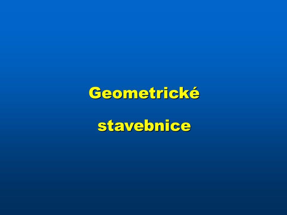 Geometrické stavebnice