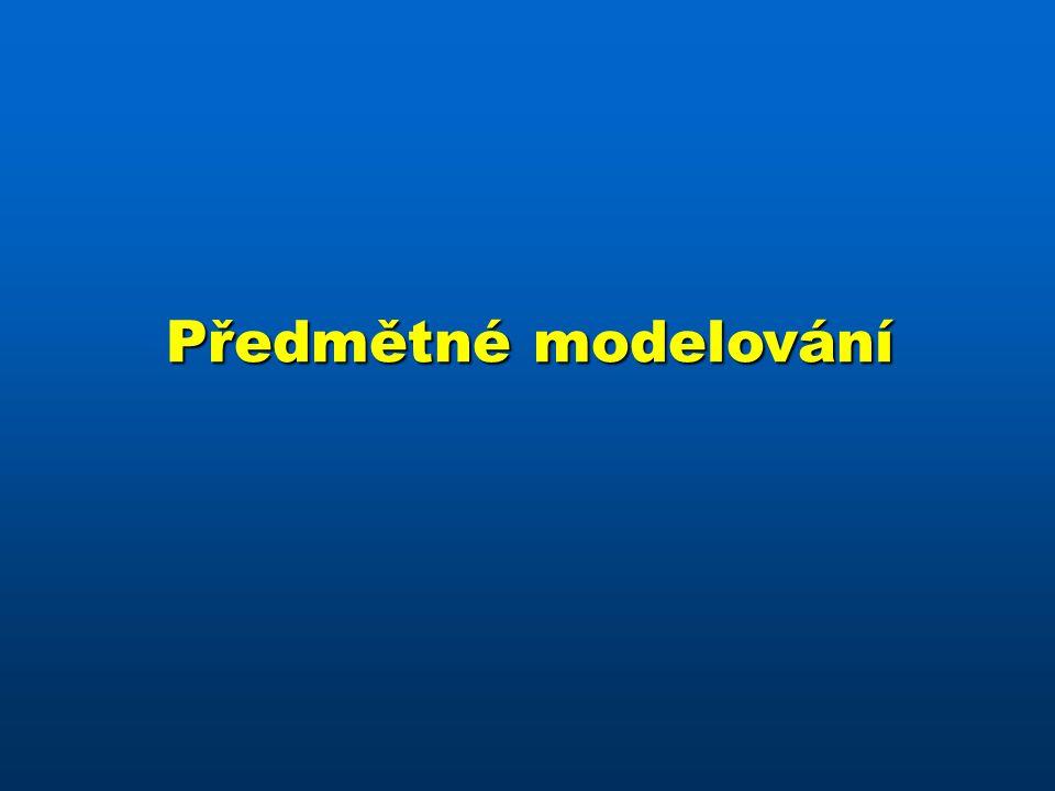 Předmětné modelování