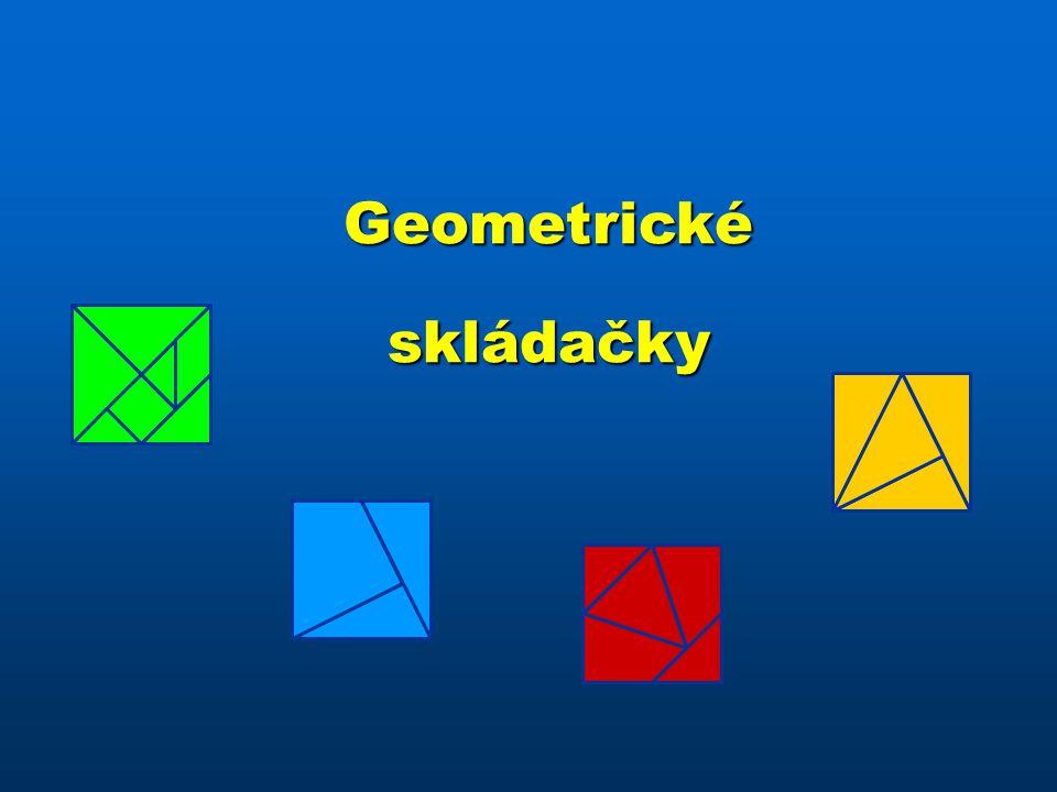 Geometrické skládačky