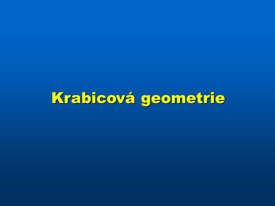 Krabicová geometrie