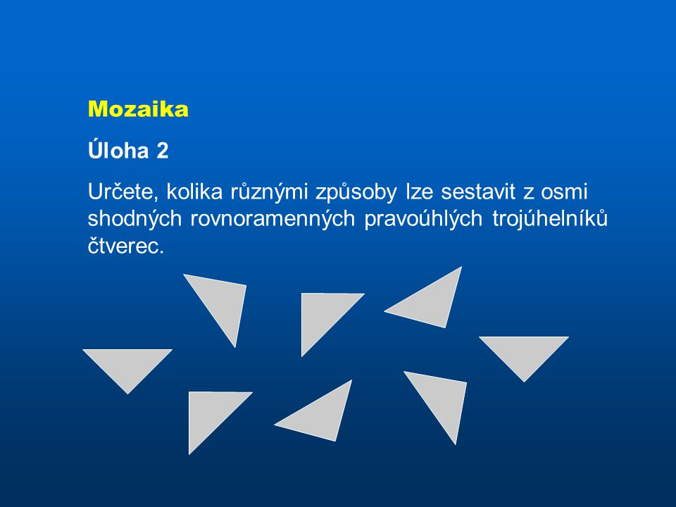 Mozaika Úloha 2.