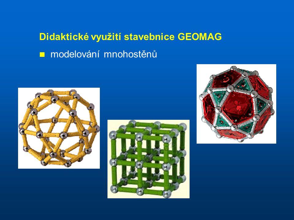Didaktické využití stavebnice GEOMAG