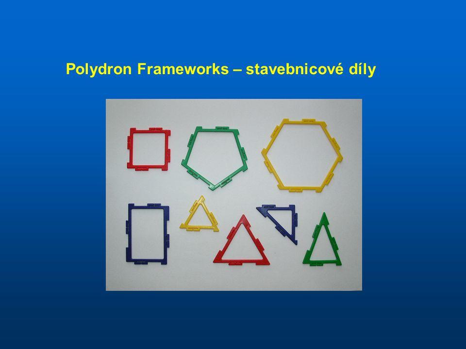 Polydron Frameworks – stavebnicové díly