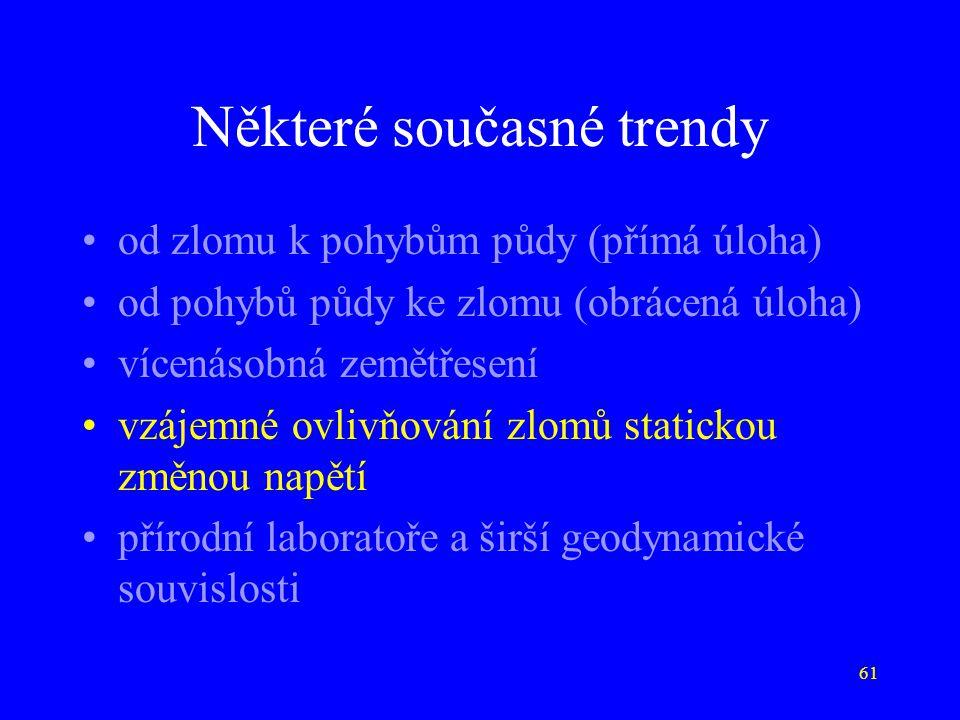 Některé současné trendy