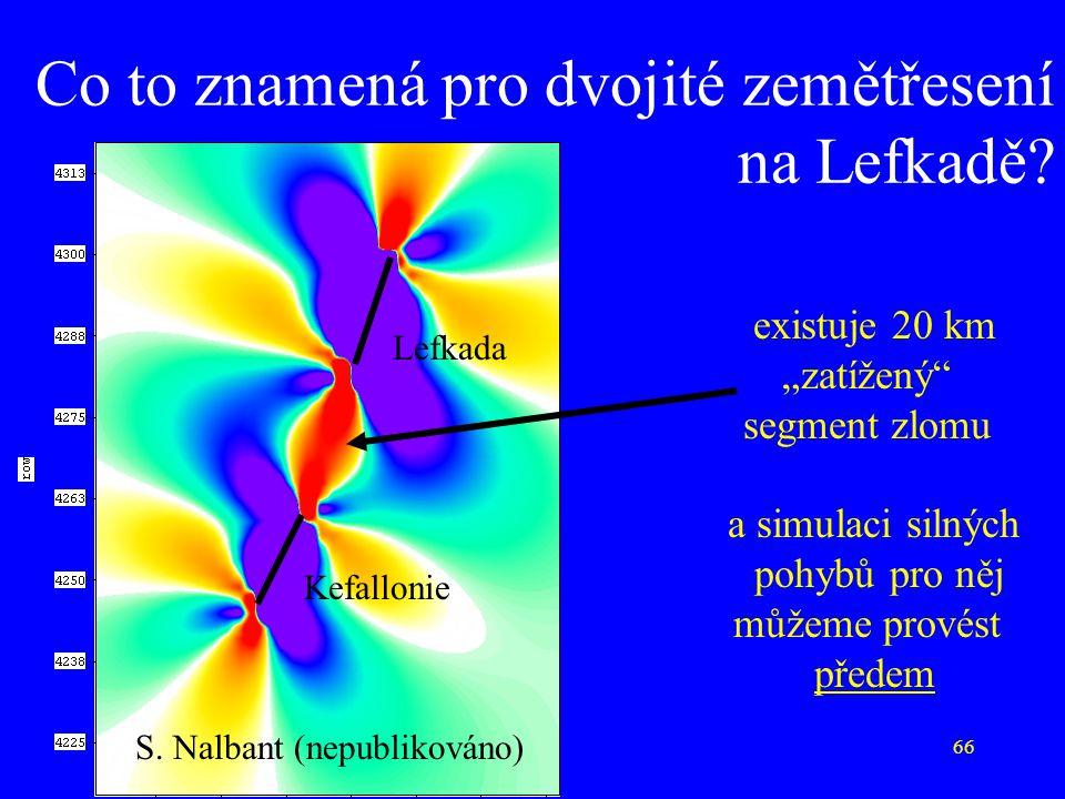Co to znamená pro dvojité zemětřesení na Lefkadě