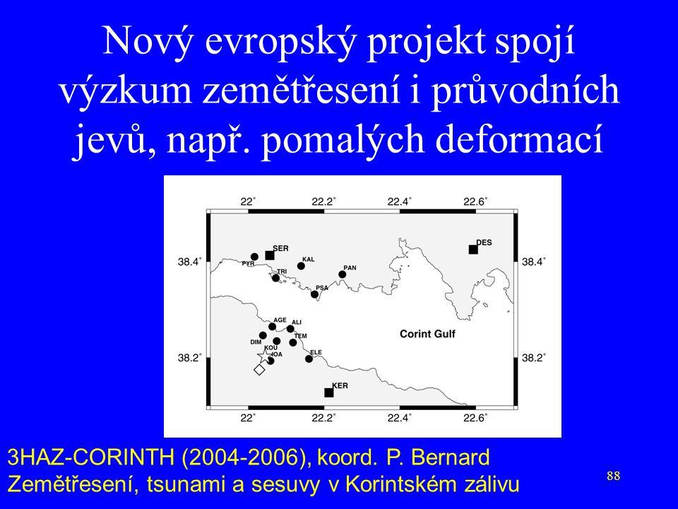 Nový evropský projekt spojí výzkum zemětřesení i průvodních jevů, např