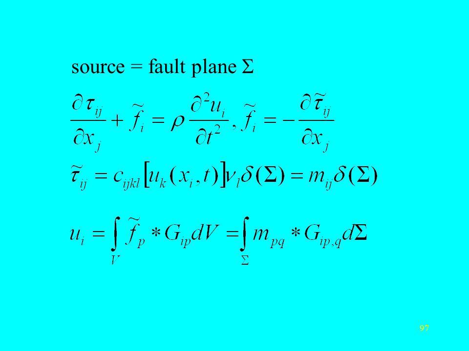 source = fault plane S
