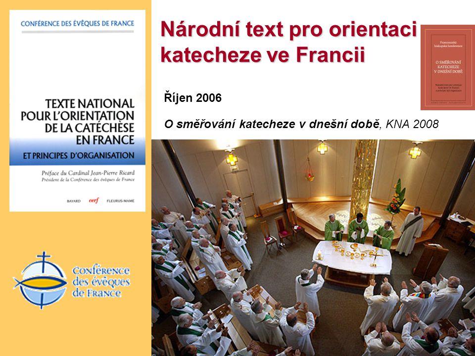 Národní text pro orientaci katecheze ve Francii