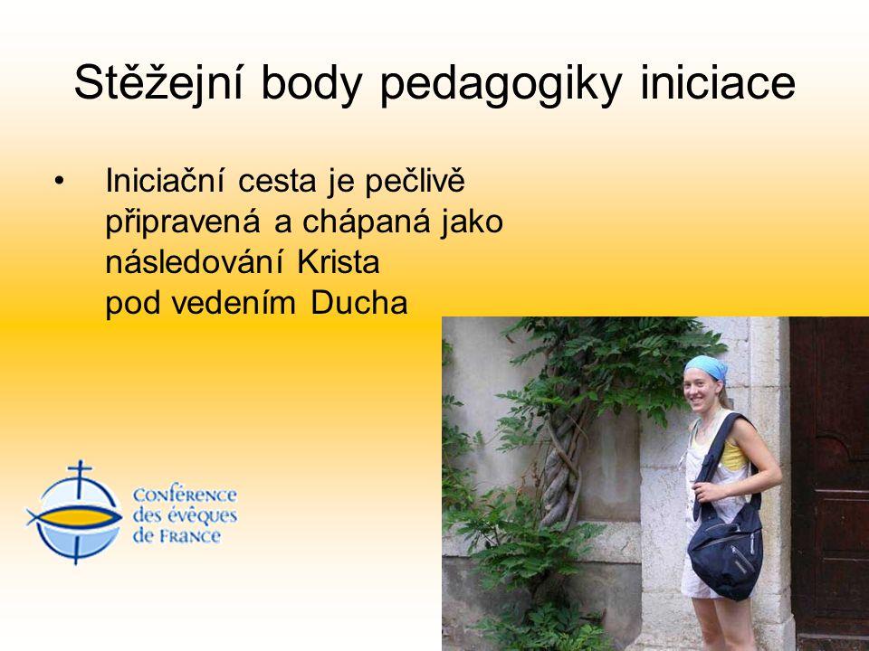 Stěžejní body pedagogiky iniciace