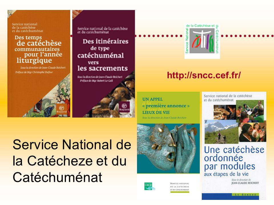 Service National de la Catécheze et du Catéchuménat