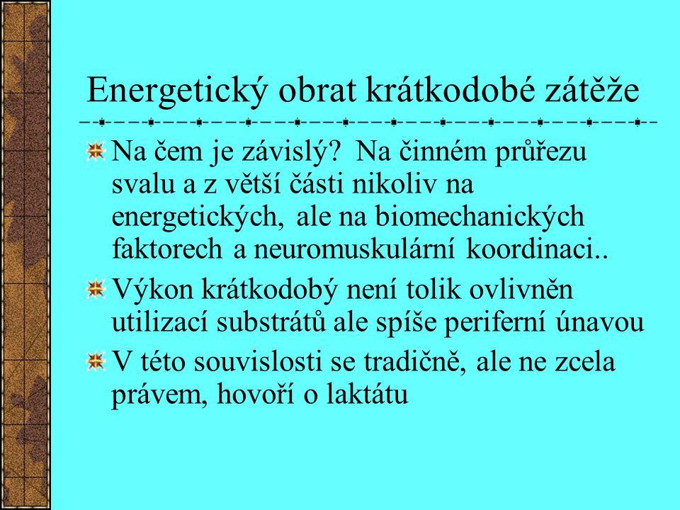 Energetický obrat krátkodobé zátěže