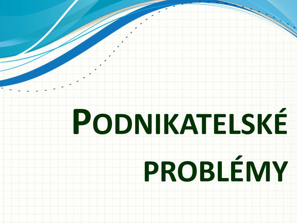 Podnikatelské problémy