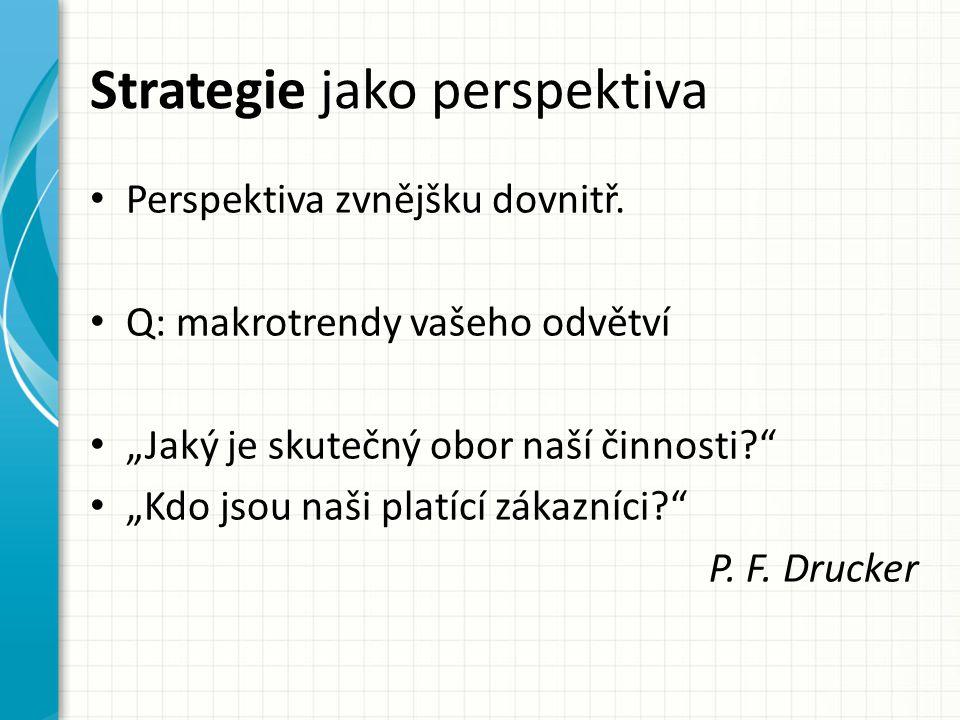 Strategie jako perspektiva