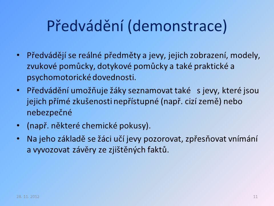 Předvádění (demonstrace)