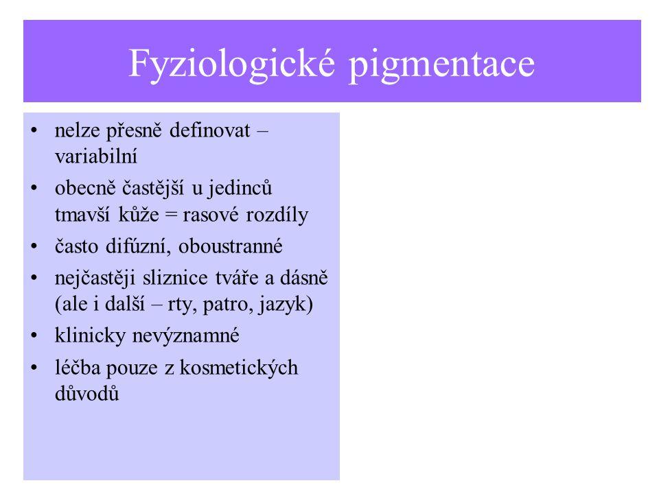 Fyziologické pigmentace