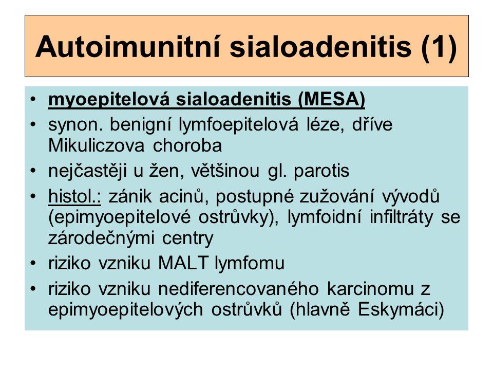 Autoimunitní sialoadenitis (1)