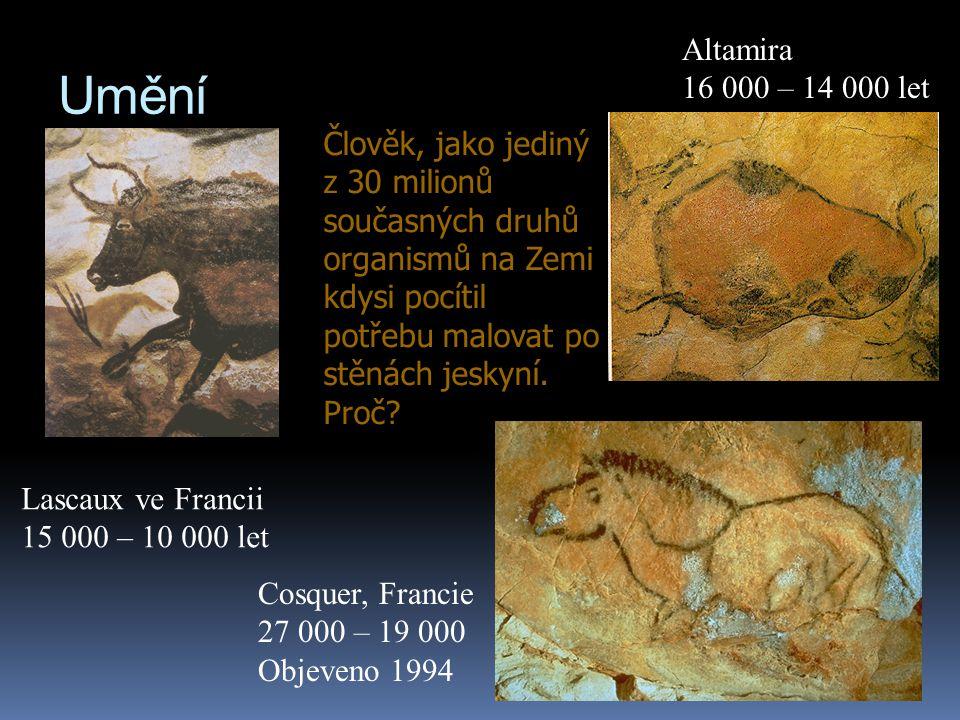Altamira 16 000 – 14 000 let. Umění.