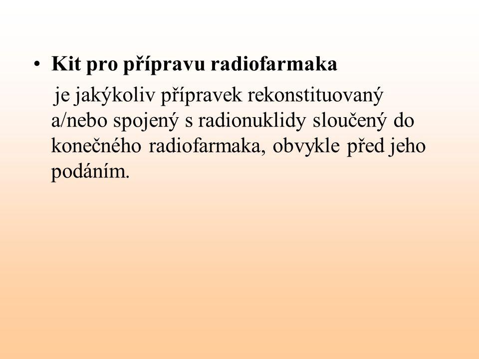 Kit pro přípravu radiofarmaka