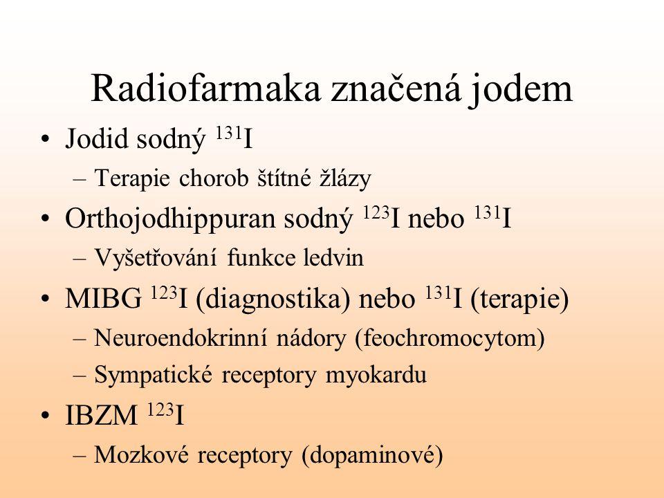 Radiofarmaka značená jodem