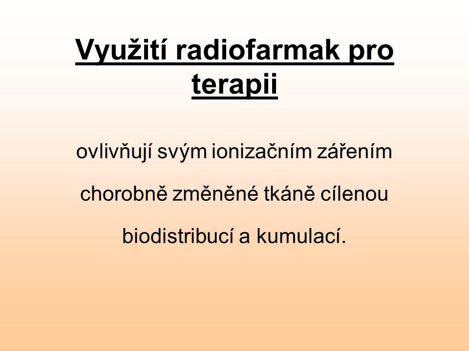 Využití radiofarmak pro terapii