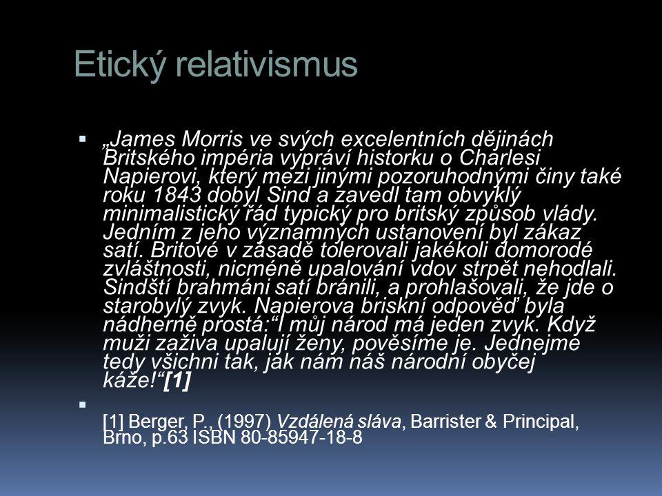 Etický relativismus