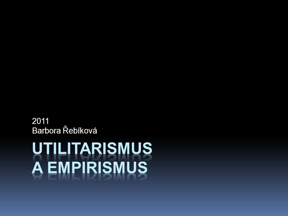Utilitarismus a empirismus