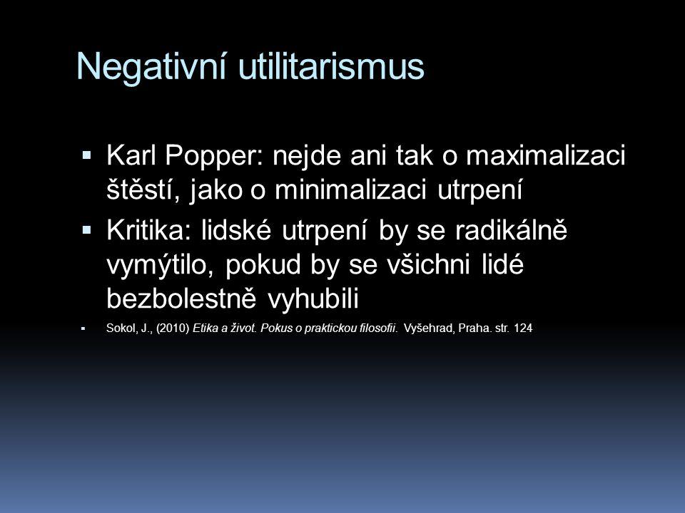 Negativní utilitarismus