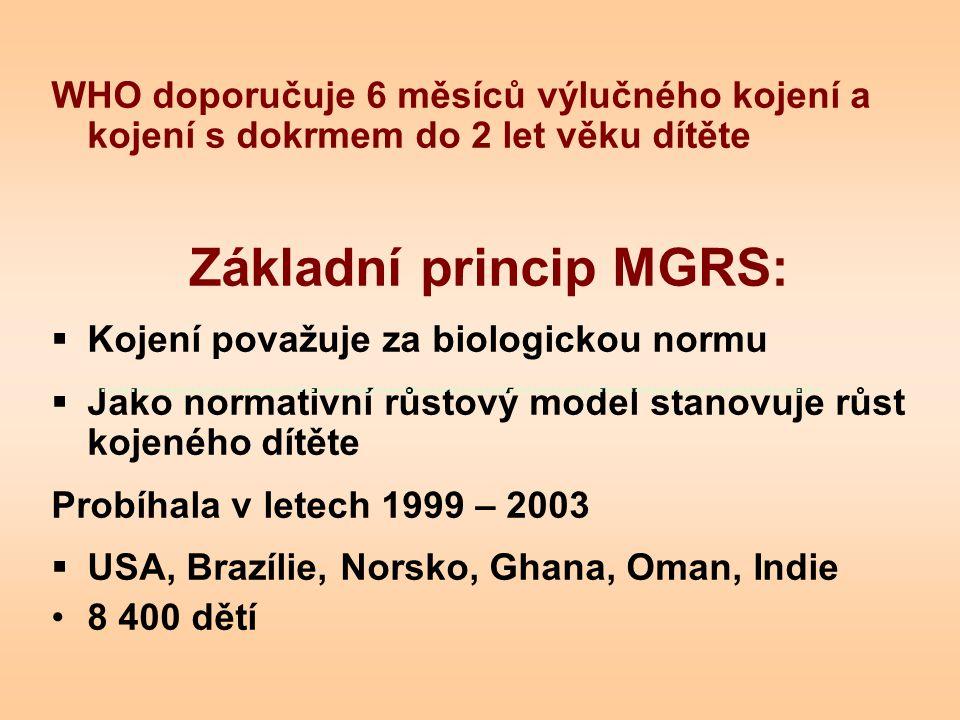 Základní princip MGRS: