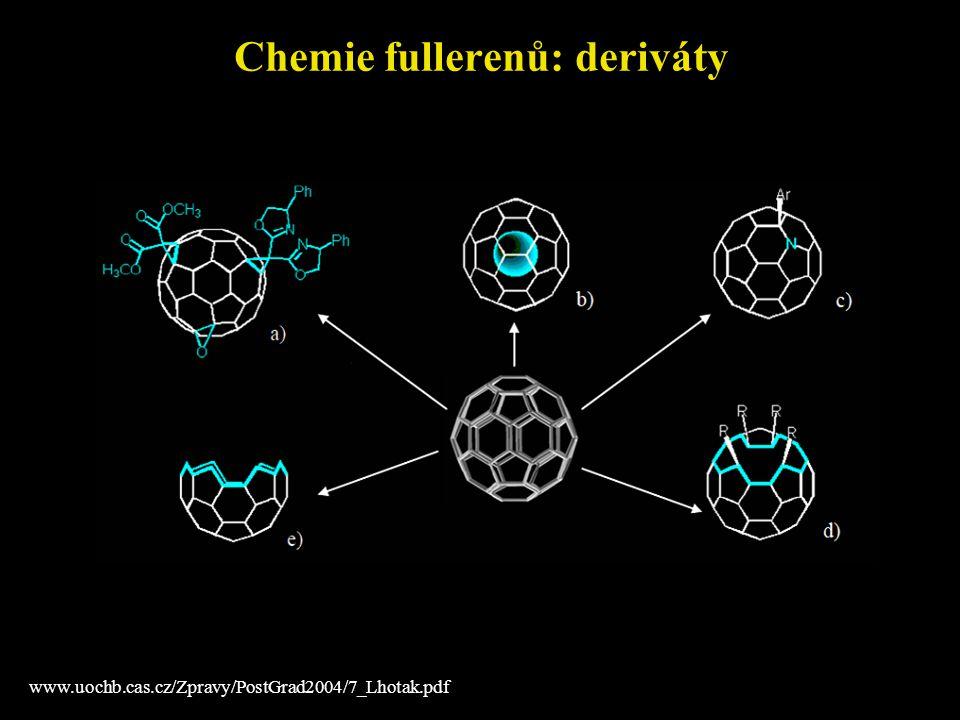 Chemie fullerenů: deriváty