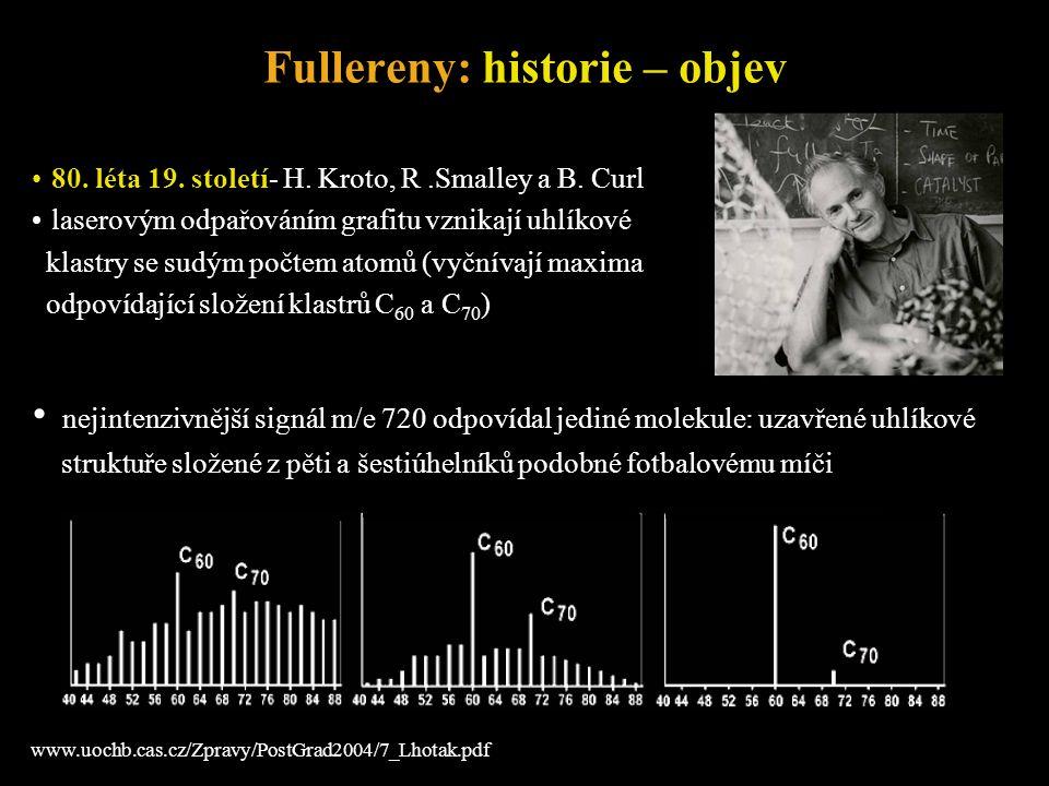 Fullereny: historie – objev