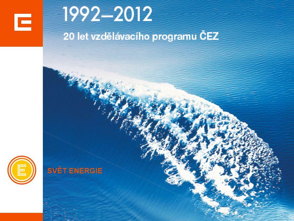 www.cez.cz/vzdelavaciprogram Cíl: vzdělávat a informovat veřejnost, zejména mladou generaci.