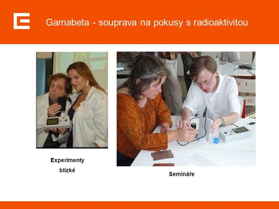 Gamabeta - souprava na pokusy s radioaktivitou