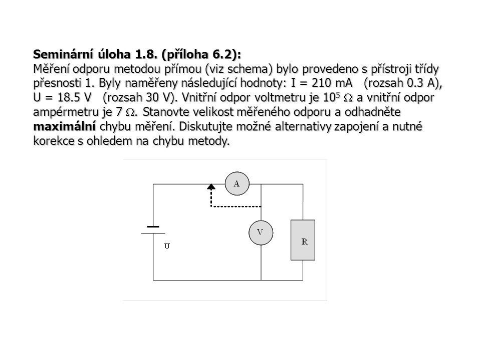 Seminární úloha 1.8. (příloha 6.2):