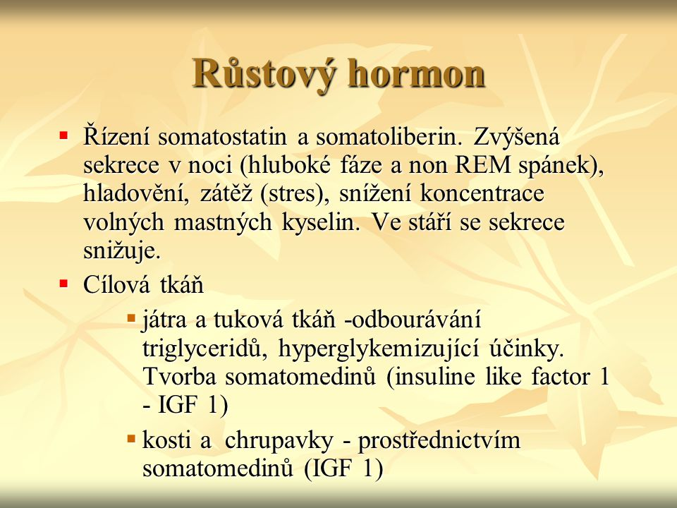 Růstový hormon