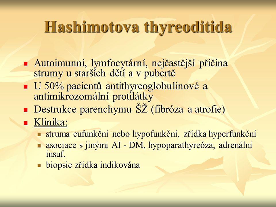 Hashimotova thyreoditida