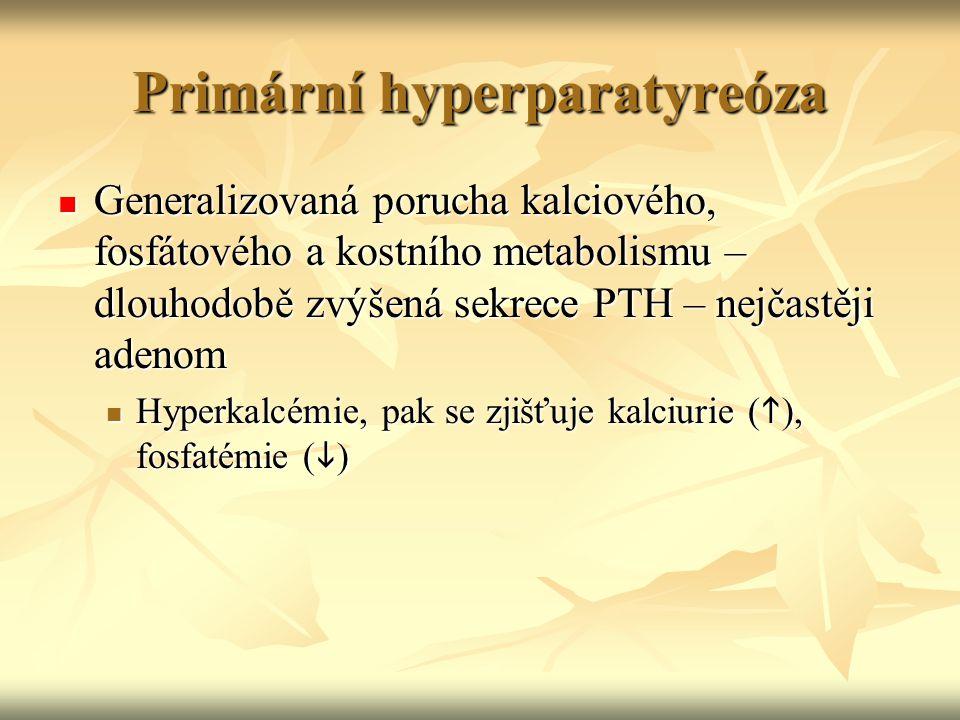 Primární hyperparatyreóza
