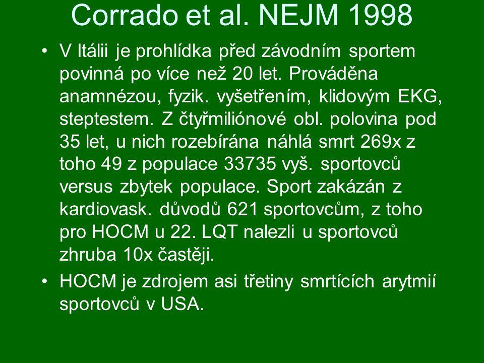 Corrado et al. NEJM 1998